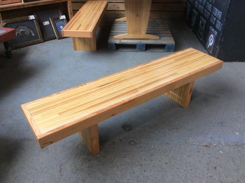 Terrific C At J Salvaged Bowling Alley Bench Featured Inventory Gmtry Best Dining Table And Chair Ideas Images Gmtryco